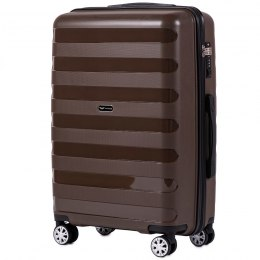PP07, Middle size suitcase Wings M, Cooper - Polipropyelene
