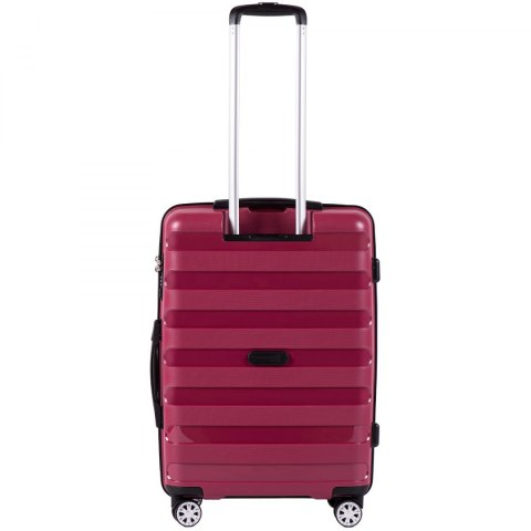 PP07, Middle size suitcase Wings M, Red - Polipropyelene