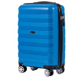 PP07, Cabin suitcase Wings S, Blue - Polipropylene