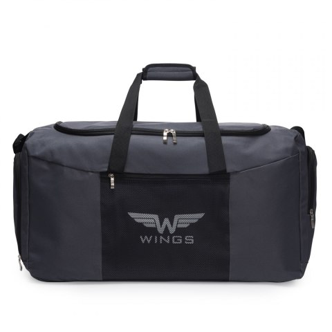 Sports / Travel bags WINGS TB1003 M, Grey-white