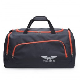 Sports / Travel bags WINGS TB1006 M, Grey-orange