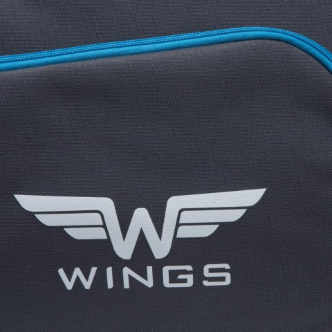 Sports / Travel bags WINGS TB1006 S, Grey-cyan