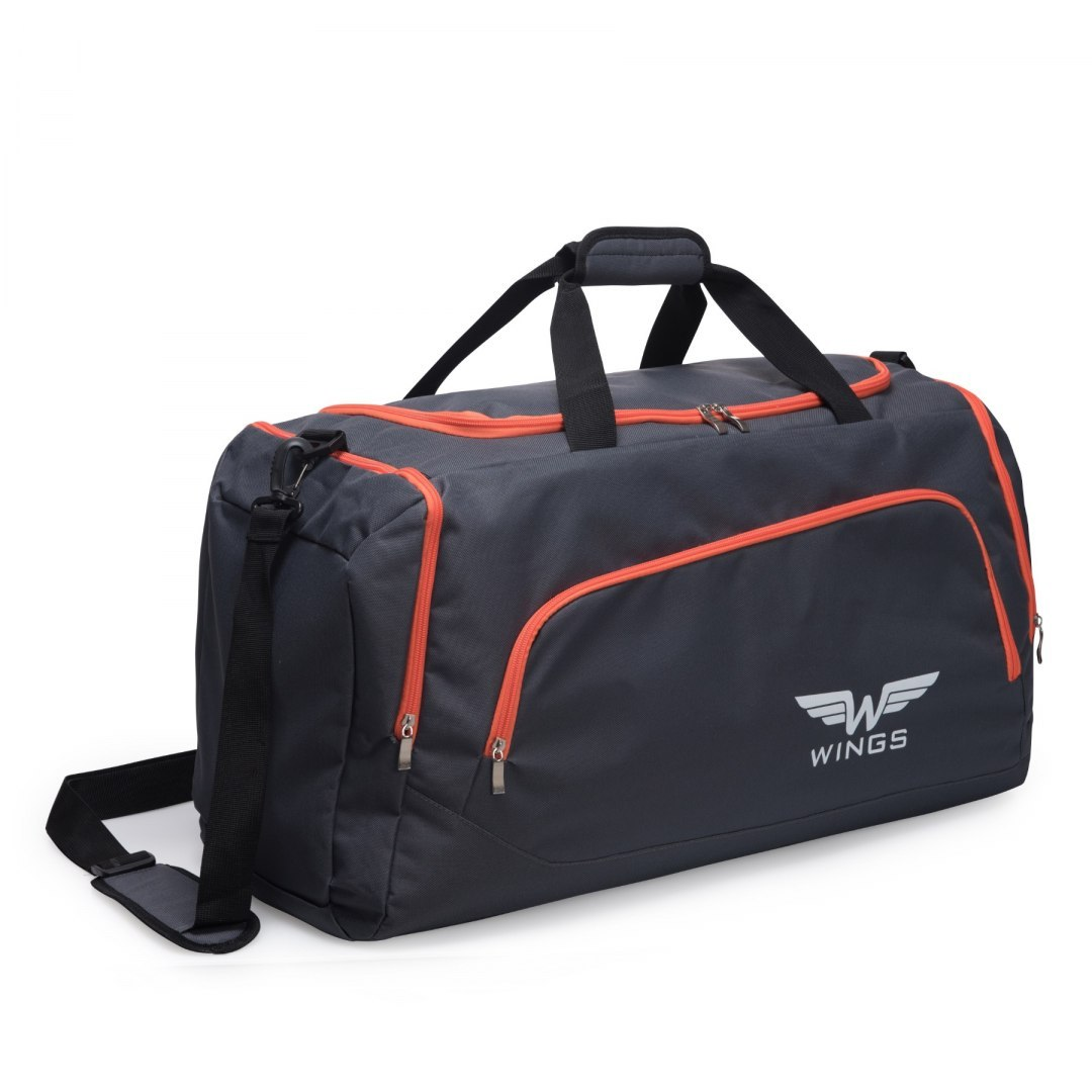 Sports / Travel bags WINGS TB1006 S, Grey-orange