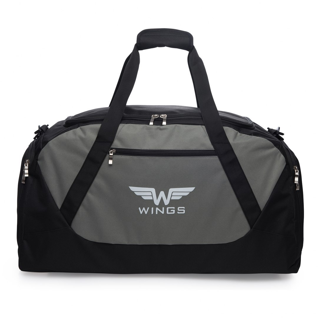Sports / Travel bags WINGS S, Black/Grey