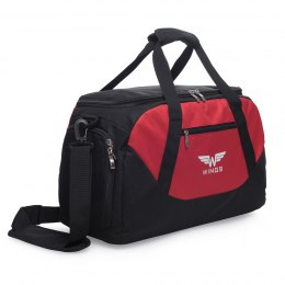 Sports / Travel bags WINGS S, Black/Red