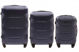 147, Luggage 3 sets (L,M,S) Wings, Blue
