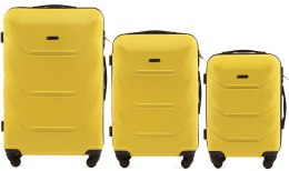 147, Luggage 3 sets (L,M,S) Wings, Yellow
