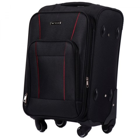1609, Cabin size suitcase 4 wheels Wings S, Black
