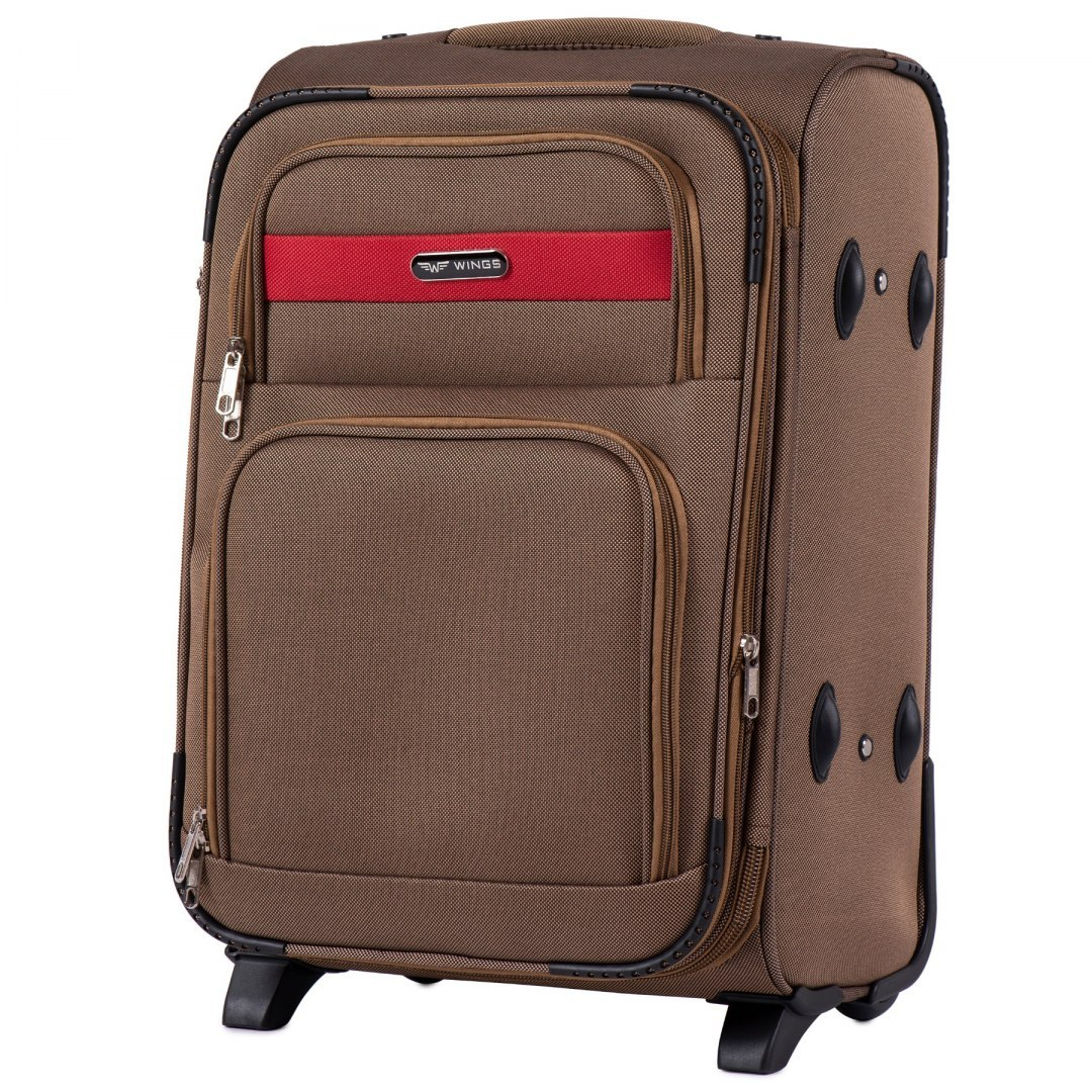 1605, Cabin size suitcase 2 wheels Wings S, Yellow