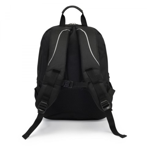 SCHOOL BACKPACK PLUS PENCIL PATCHES BLACK