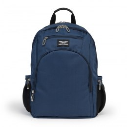 SCHOOL BACKPACK PLUS PENCIL LOGO BLUE