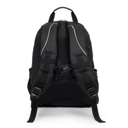 SCHOOL BACKPACK PLUS PENCIL LOGO BLACK