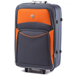 102, suitcase CODURA L, Grey/Orange