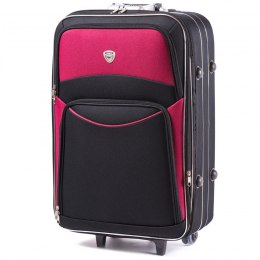 102, suitcase CODURA M, Black/Red