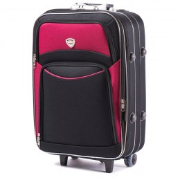 102, suitcase CODURA S, Black/Red
