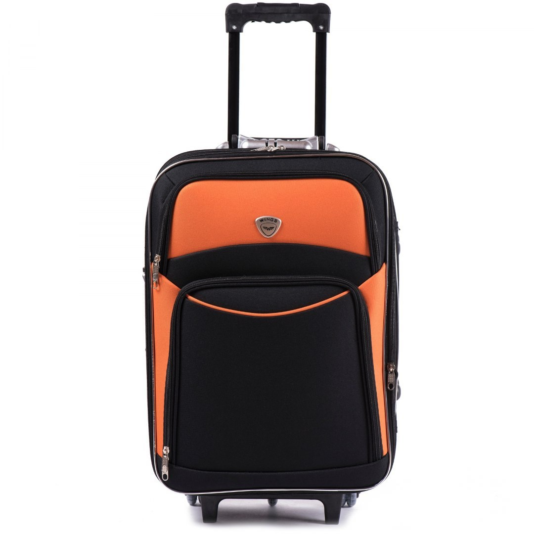 102, suitcase CODURA S, Grey/Orange