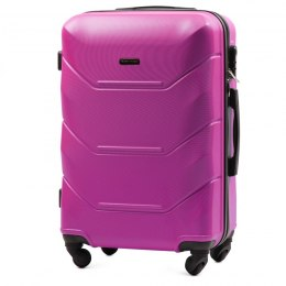 147, Middle size suitcase Wings M, Rose red