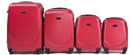 K310, Luggage 4 sets (L,M,S,XS) Wings, Blood Red
