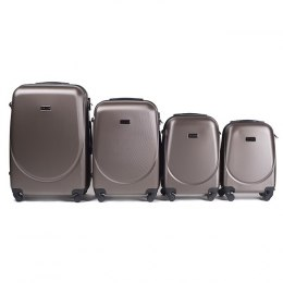 K310, Luggage 4 sets (L,M,S,XS) Wings, Coffe