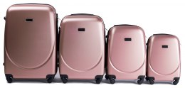 K310, Luggage 4 sets (L,M,S,XS) Wings, Rose Gold