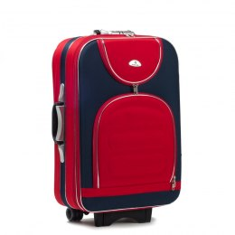 A801, suitcase CODURA L, Blue/Red
