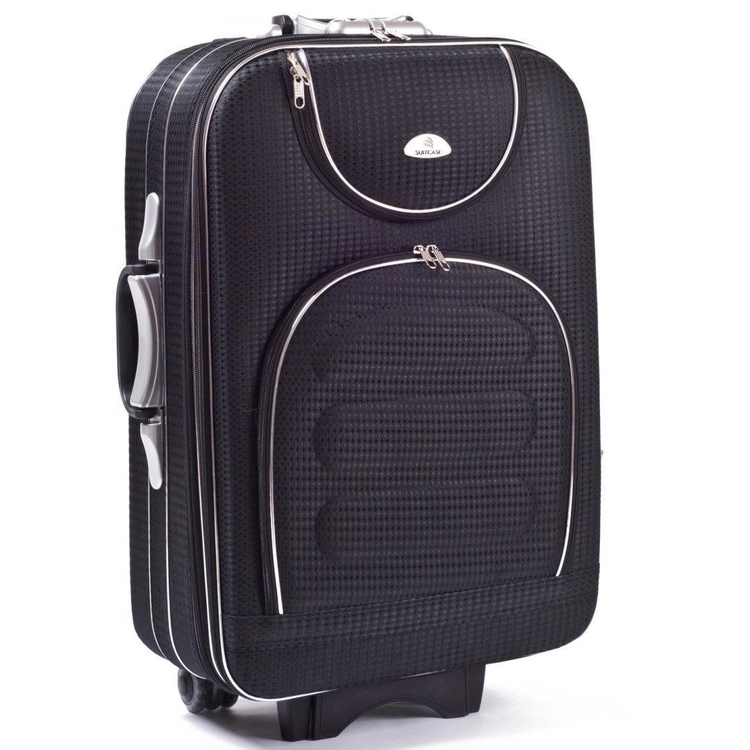 C801, suitcase CODURA L, Black