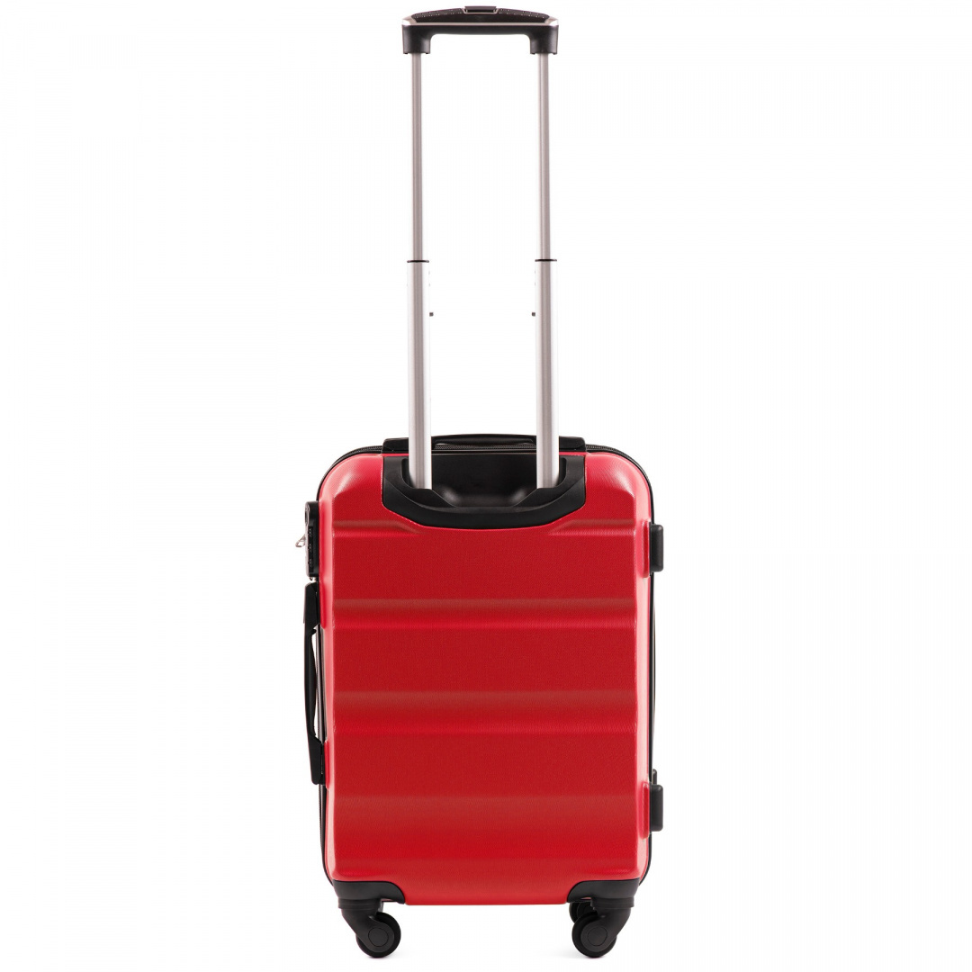 AT01, Cabin suitcase Wings S, Blood Red