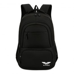 BP40-01, Travel backpacky Wings, Black