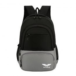 BP40-02, Travel backpacky Wings, Grey