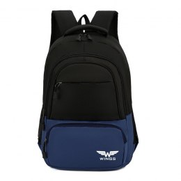 BP40-04, Travel backpacky Wings, Blue