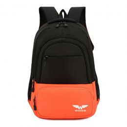 BP40-05, Travel backpacky Wings, Orange