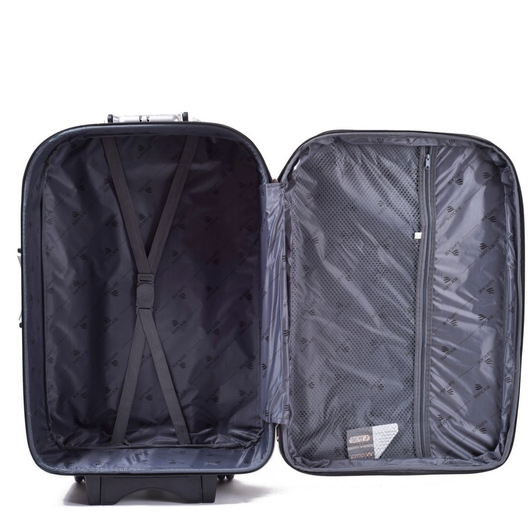 C801, suitcase CODURA M, Red/Blue