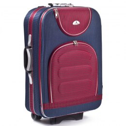 C801, suitcase CODURA M, Blue/Red