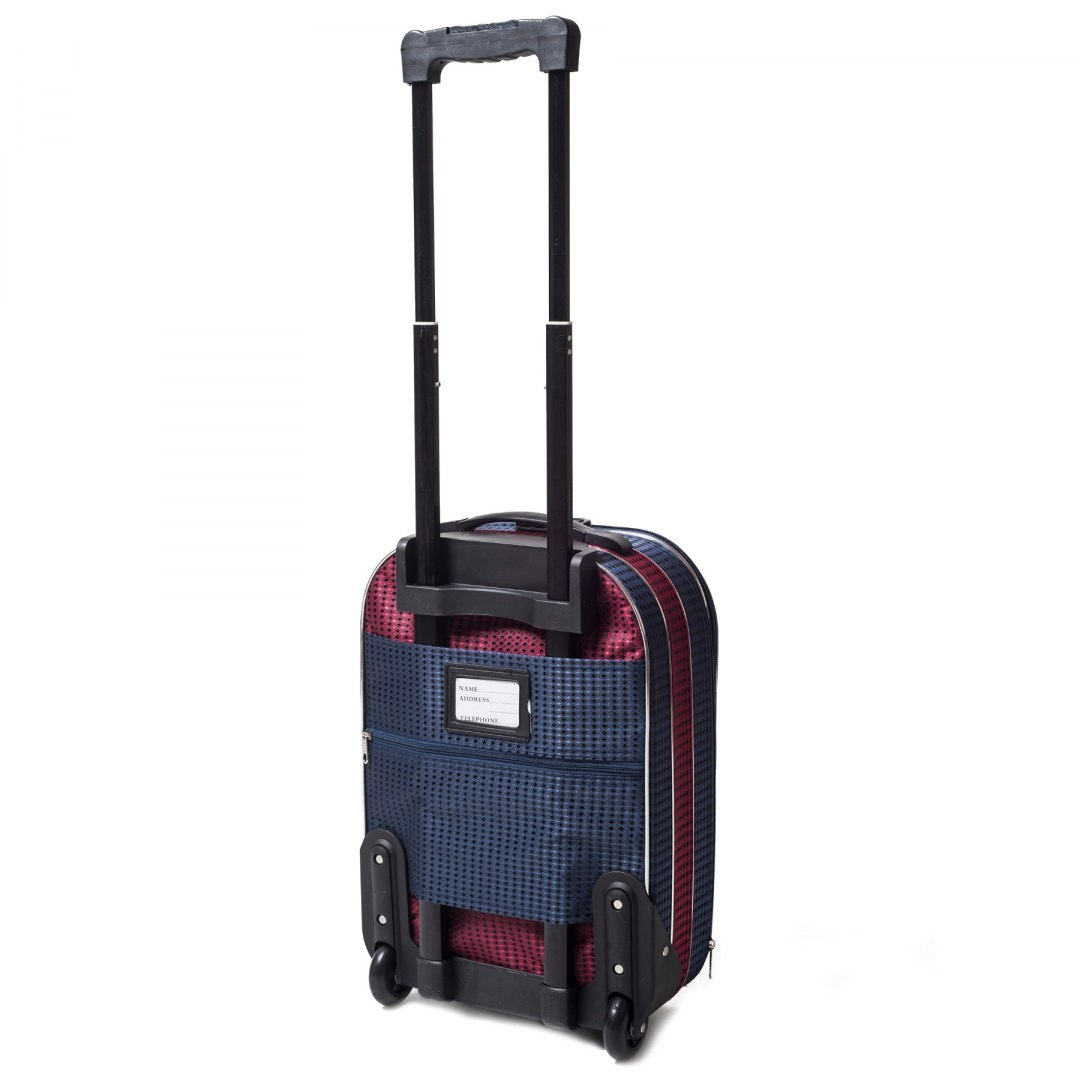 C801, suitcase CODURA S, Red/Blue