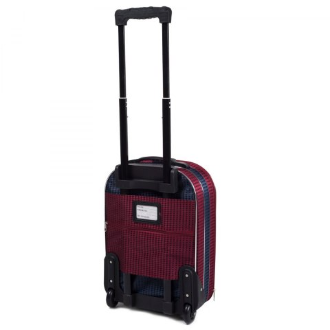 C801, suitcase CODURA S, Blue/Red