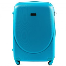 K310, Large travel suitcase Wings L, Cyan
