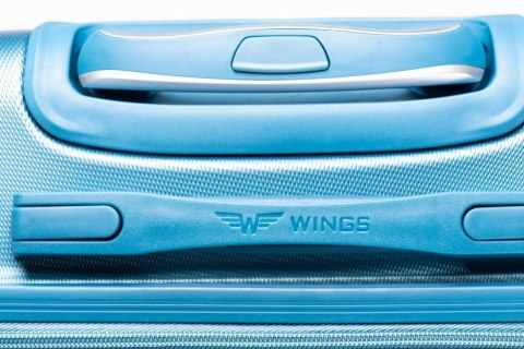 K310, Luggage 4 sets (L,M,S) Wings, Silver Blue