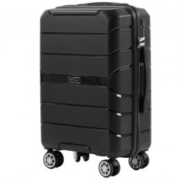 PP05, Cabin suitcase Wings S, Black - Polipropylene