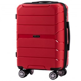 PP05, Cabin suitcase Wings S, Red - Polipropylene