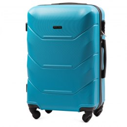 147, Middle size suitcase Wings M, Cyan