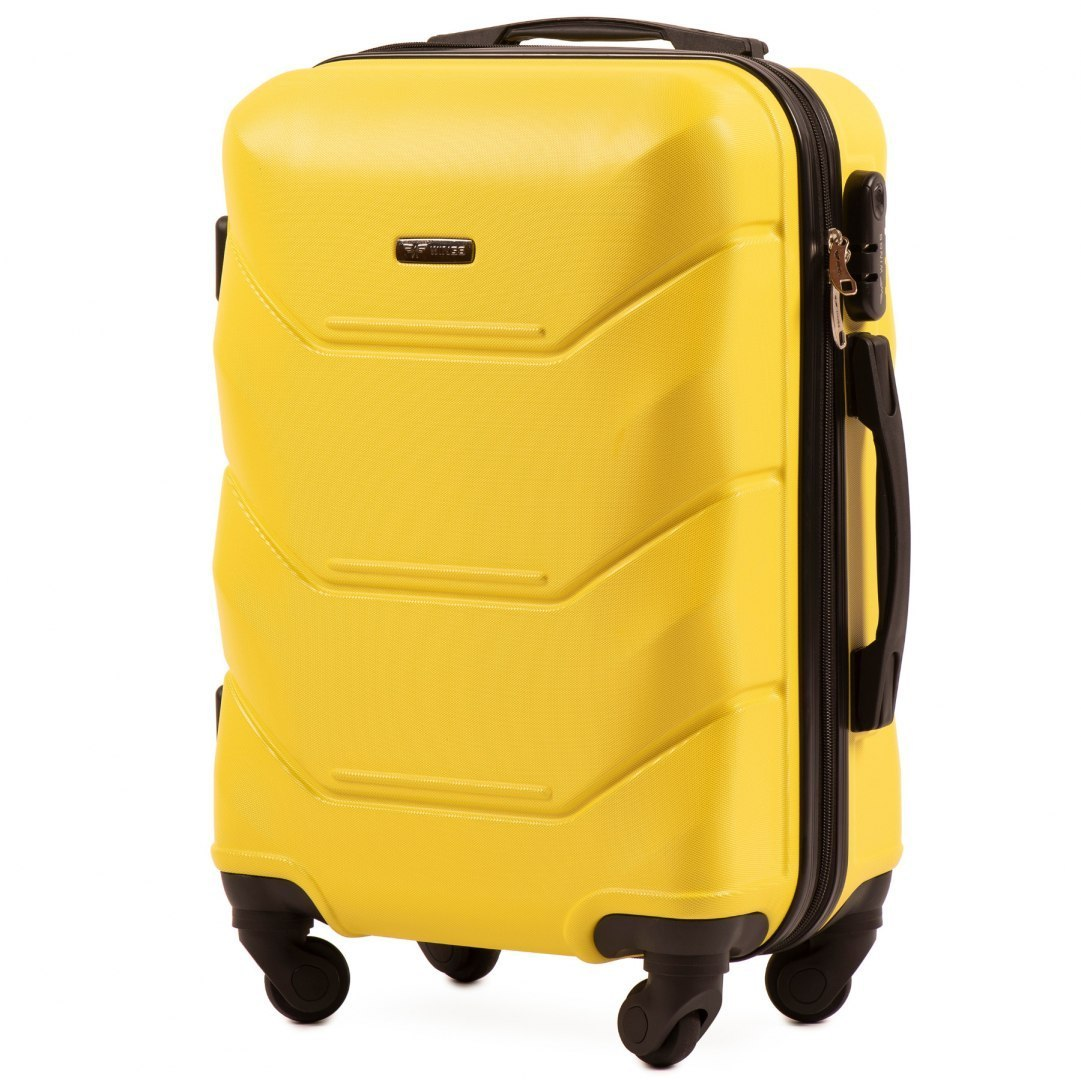 147, Cabin suitcase Wings S, Yellow