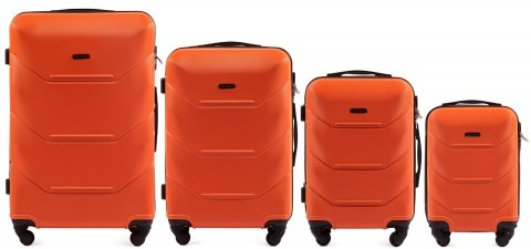 147, Luggage 4 sets (L,M,S,XS) Wings, Orange