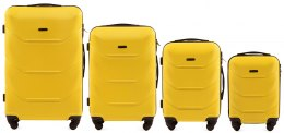 147, Luggage 4 sets (L,M,S,XS) Wings, Yellow