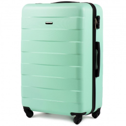401, Large travel suitcase Wings L, Light green