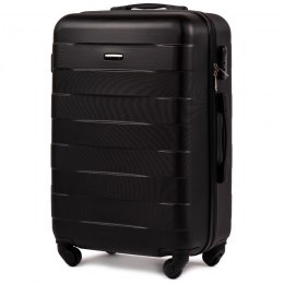 401, Middle size suitcase Wings M, Black