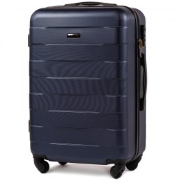 401, Middle size suitcase Wings M, Blue
