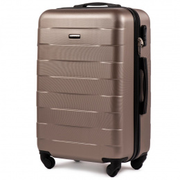 401, Middle size suitcase Wings M, Champagne