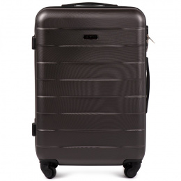 401, Middle size suitcase Wings M, Dark grey