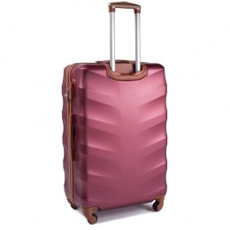 402, Large travel suitcase Wings L, Wine red