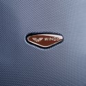 402, Middle size suitcase Wings M, Black
